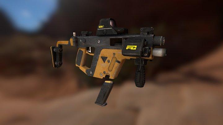 Kriss Super-V 3D Model