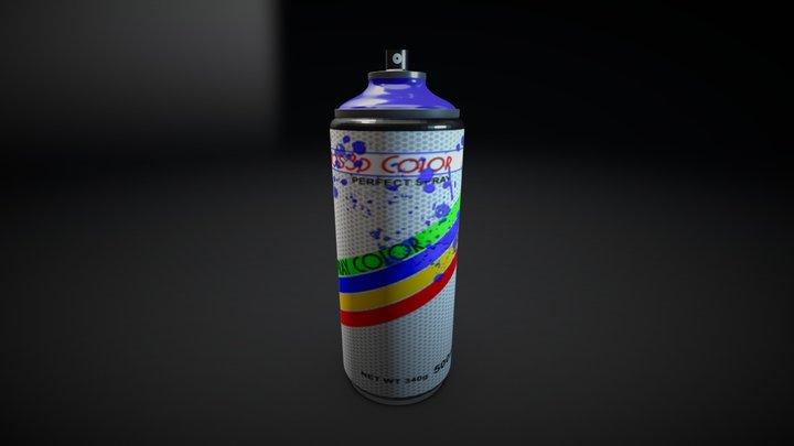 spraypaint 3D Model