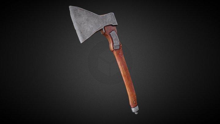 NKVD executioner trophy axe 3D Model