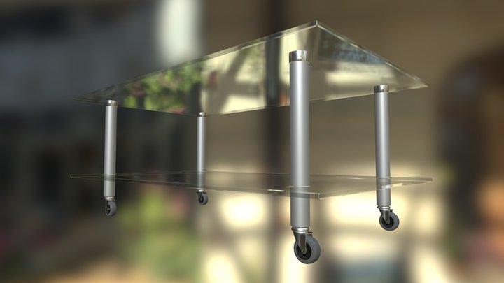 IKEA Gillsby TV Rack / CoffeeTable 3D Model