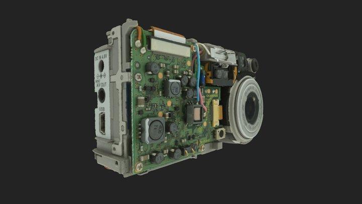 Camera teardown 3D Model