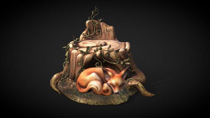 Fox Hollow 3D Model