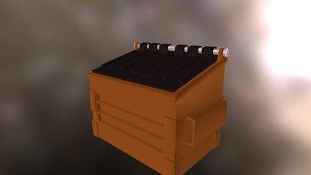 Container de lixo / Waste Container 3D Model