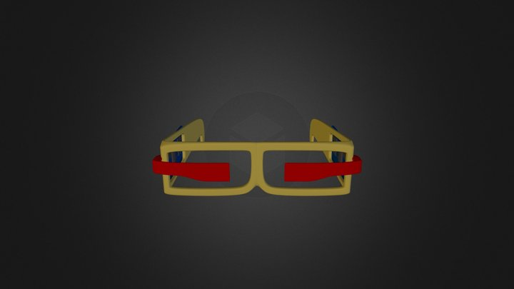 Glas 3D Model