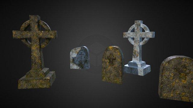headstone_v6_v10 3D Model