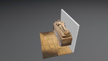 Sarcófago de Juan de Velasco 3D Model
