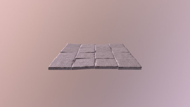 Floortile set 3D Model