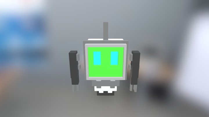 Kidsbot for Kidscode #KidscodeIsComing 3D Model