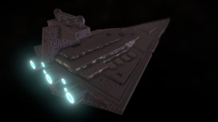 Star Destroyer 3D Model