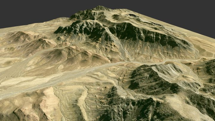Neoproterozoic rocks, Nopah Range, CA 3D Model