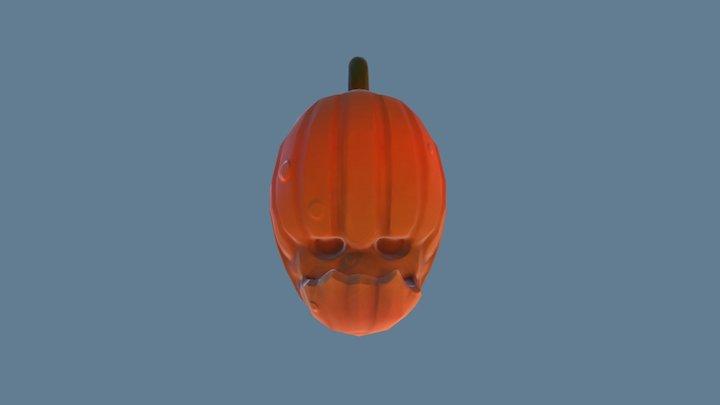 Pumpkin Dread 3D Model