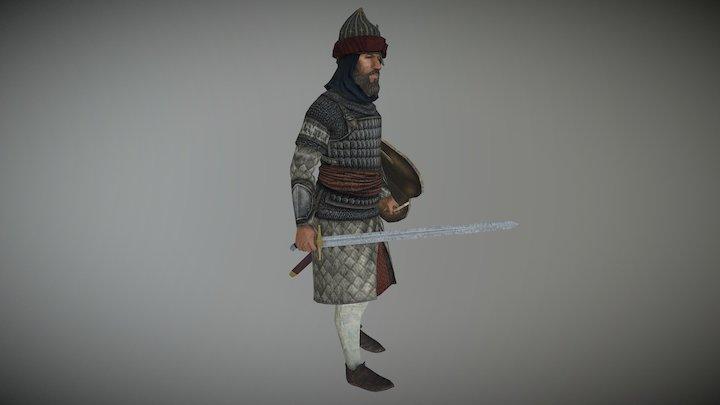 Arab Officer (Machiavello Mod for M2TW) 3D Model