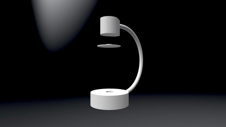 LUNALUXX Levitating Lamp by Elivatix 3D Model