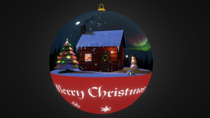 The Christmas Ornament 3D Model