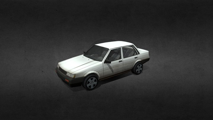 Toyota Corola 3D Model