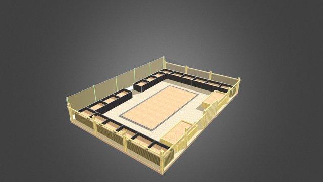 Vierkante meter moestuin 3D Model