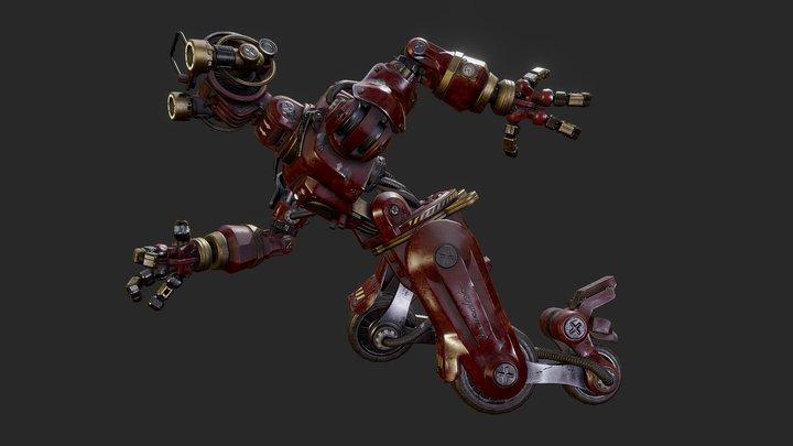 Hercules On Wheels 3D Model