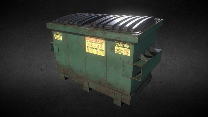 Rusty Dumpster 3D Model