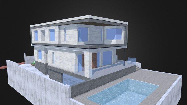 CASA MARTÍN-ALCA v2 3D Model