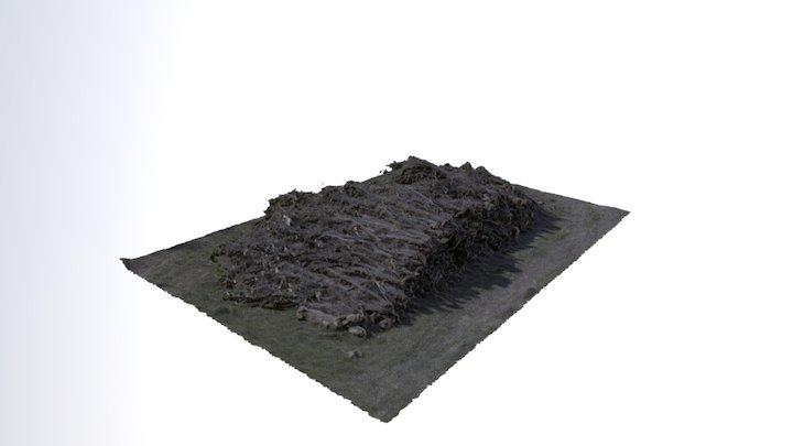 Tas de bois, France (Medium Definition) 3D Model