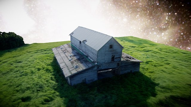 Abandoned Barn 3D Model