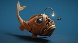 Day 01 - Beast: Deep Sea 3D Model