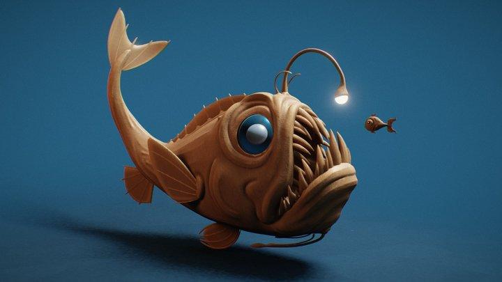 Day 01 - Beast: Deep Sea 3D Model