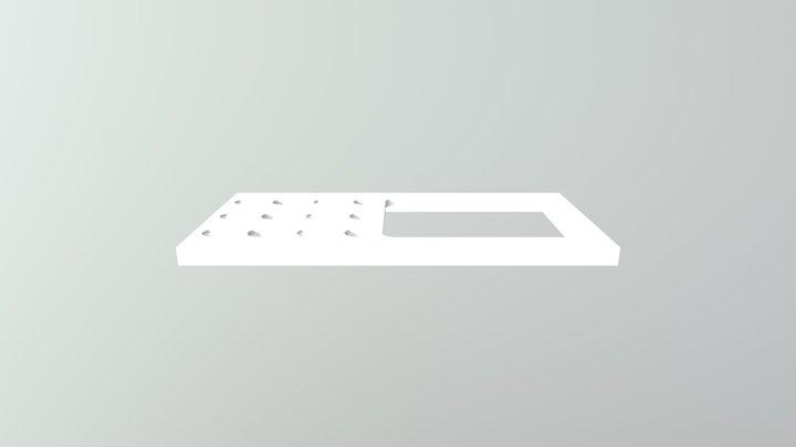 Screen Holder for Star Trek Tricorder 3D Model