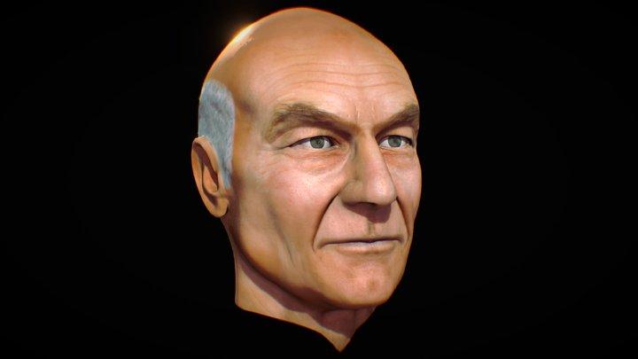 JEAN-LUC PICARD 3D Model