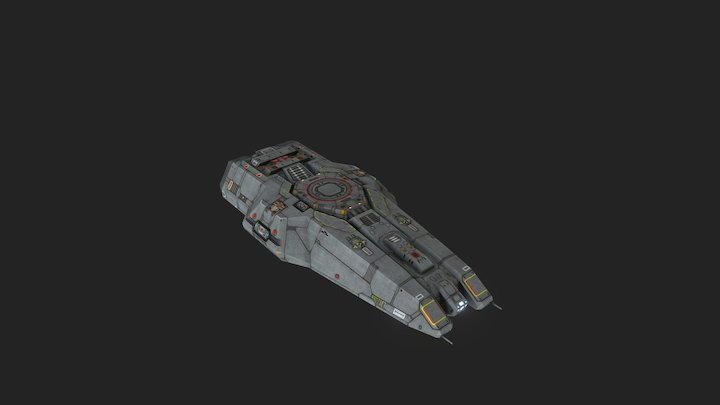 hgn_mechgun 3D Model