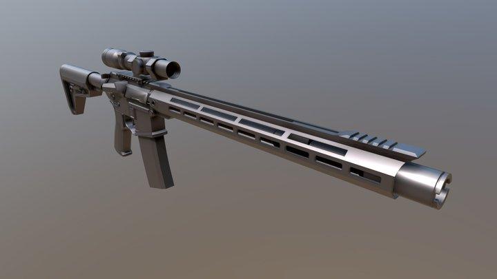 Ar15 (old stuff) 3D Model