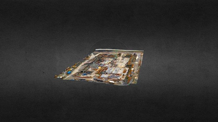 3D Hospital Villarrica Sacyr 28 Junio 3D Model