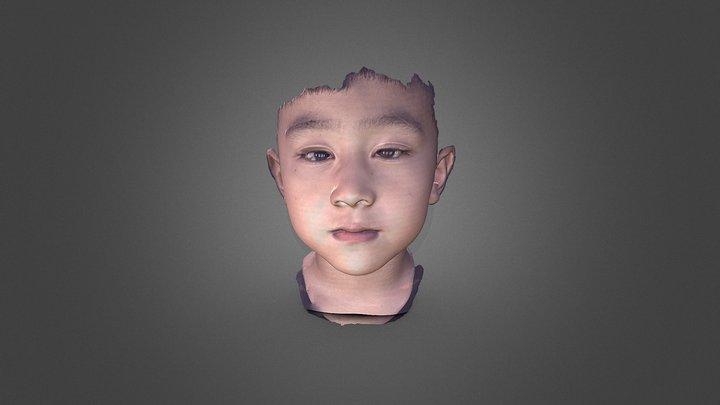 3D Face scanner Facense Model: Boy 3D Model