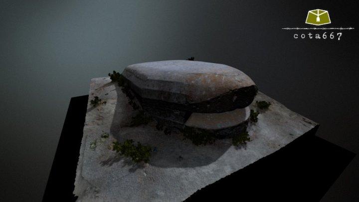 Fortín 1 de Los Yesares (Pinto, Madrid) 3D Model