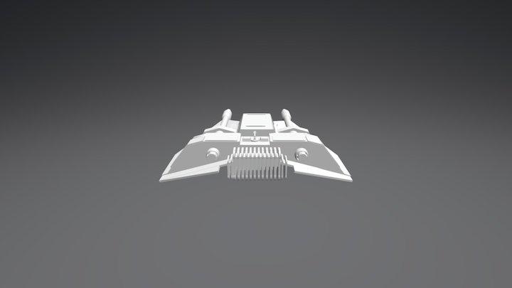 Snowspeeder 3D Model