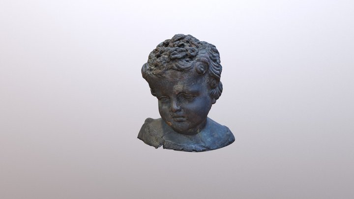 Голова мальчика / Head of a boy 3D Model