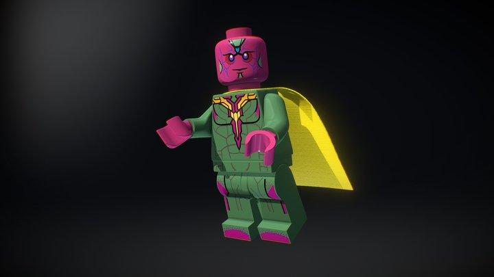 LEGO Vision of Marvel Super Heroes 3D Model