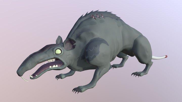 Rat_Boss 3D Model