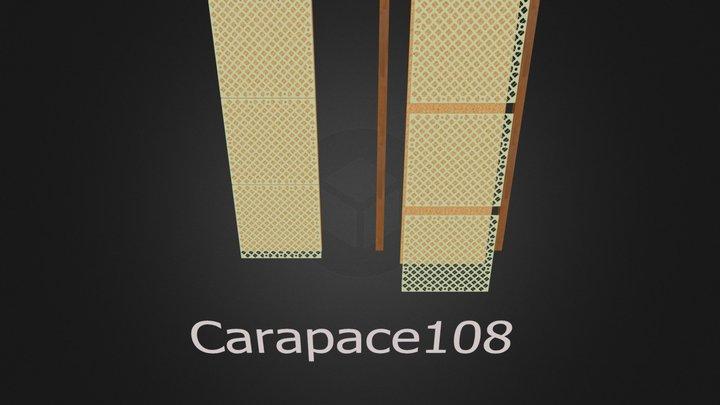 carapace oggetto 3D 2a versione 3D Model