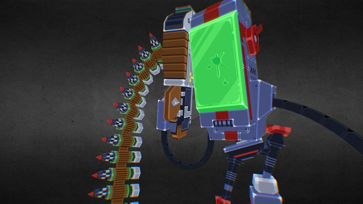Explosive Bullets 3D Model