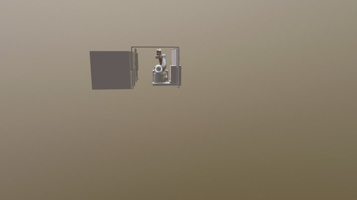 4213-001 Samlet Layout 3D Model
