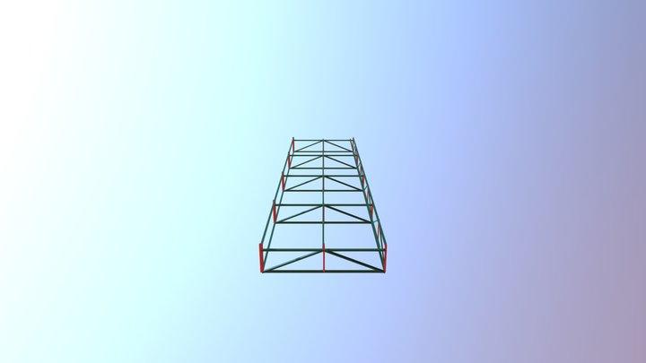 3D FACHADA 3D Model