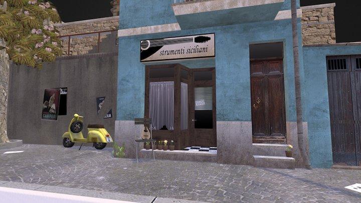 CityScene (DAE Bert Matthys) 3D Model