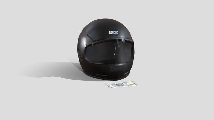 Amazon Helmet 2 3D Model