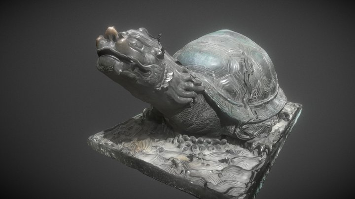 Dragon turtle 3D Model