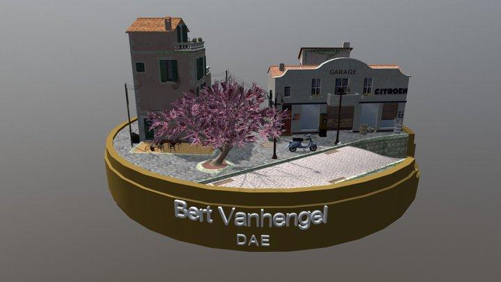 City_Scene Marseille, France 3D Model