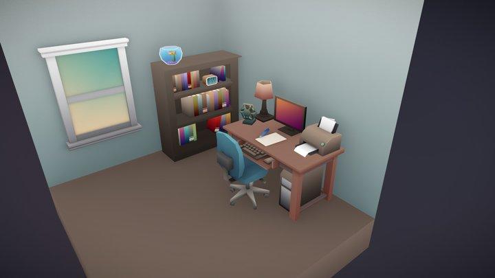 Scene - Household Props Challenge 3D Model