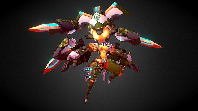 Vera Mutant Evolution 3D Model