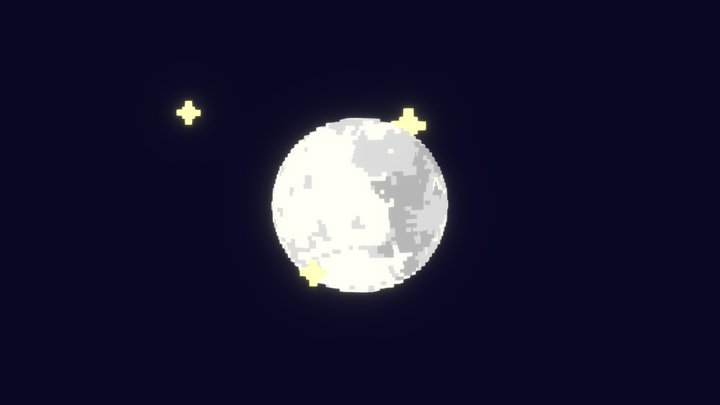 National Moon Day! 3D Model