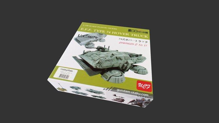 SG Type 74 Hover Truck 3D Model